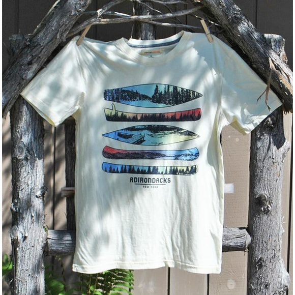 Canoe Scenes Tee (2 Colors Available)