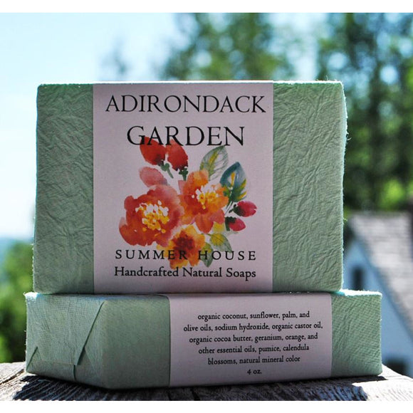 Adirondack Garden 4 oz. Soap Bar