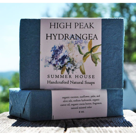 High Peak Hydrangea 4 oz. Soap Bar