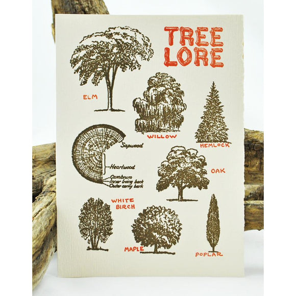 Tree Lore Single Note Card