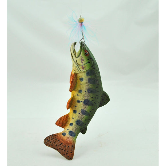 Hooked Fish Ornament