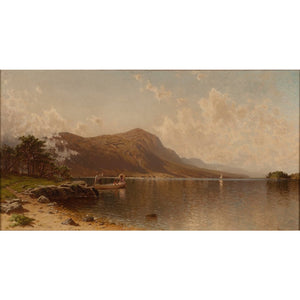 Boating Party on Lake George (Alfred Thomson Bricher)