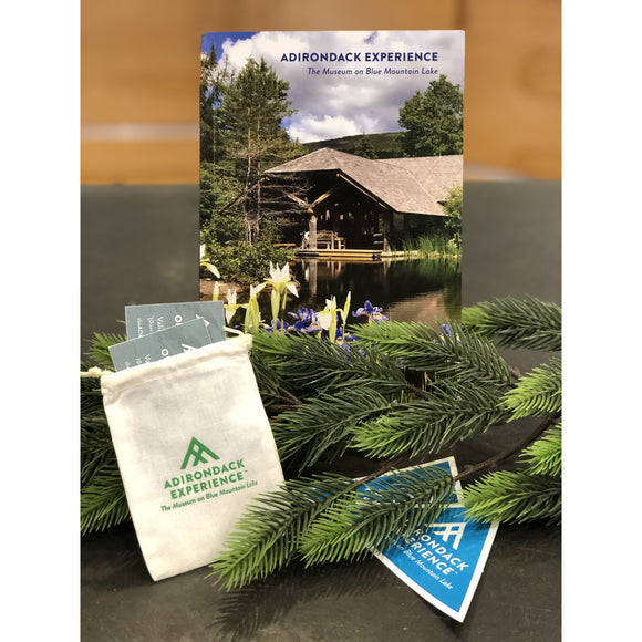 Adirondack Experience Book and Adult Admissions Gift Set