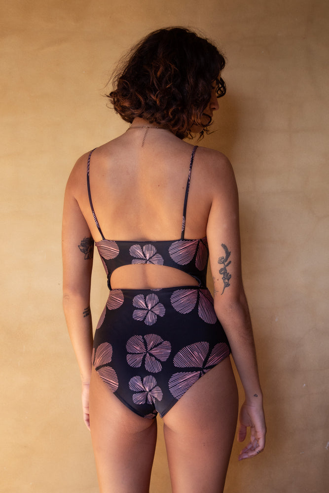 Endless Summer One Piece - Vintage Peony