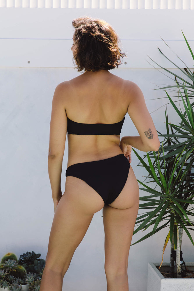 Bonita Ring Bottom - Black Rib