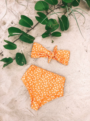 Summer Fling Bandeau - Yellow Daisy