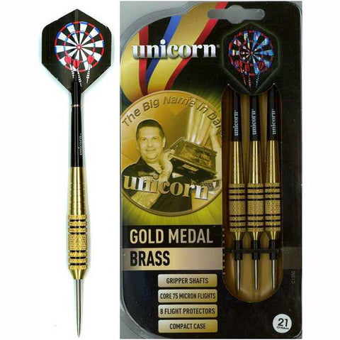 72 x Unicorn Gary Anderson Brass Darts Sets - All Weights