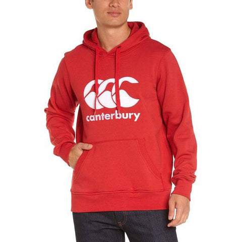 10 x Canterbury CCC Classic Flag Red Hoodies