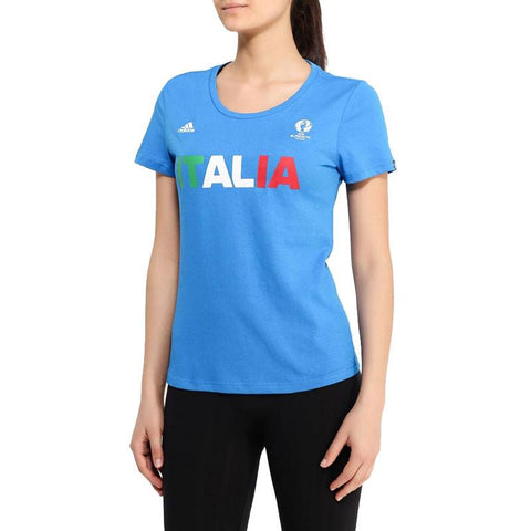 33 x adidas Euro 2016 Italy Football Womens T-Shirts