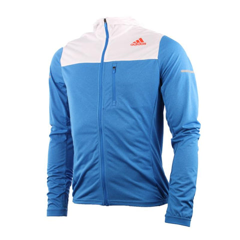 11 x adidas Mens Full Zip Stretch Running Jacket