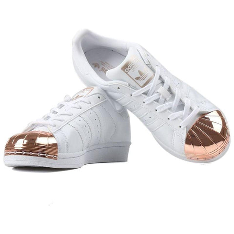 11 x adidas Originals Women's Superstar 80s Metal Toe Trainers - UK 4