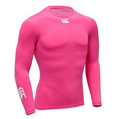 16 x Canterbury Mens Baselayer Cold, Long Sleeve Tops - Bright Pink