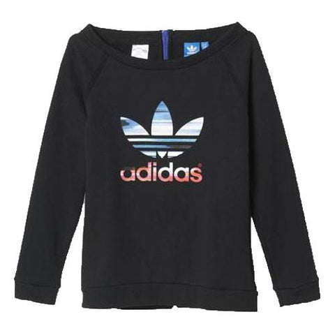 22 x adidas Originals Hoodie J Concrete Jungle Junior Crew