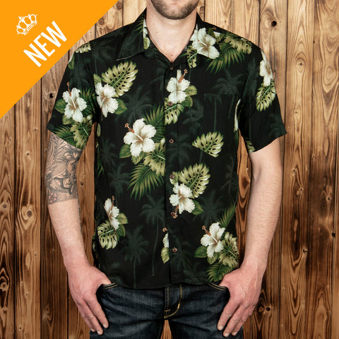 1937 Roamer Shirt Short Sleeve Puuhuna black