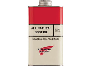 All natural boot oil item No. 97103, Red Wing