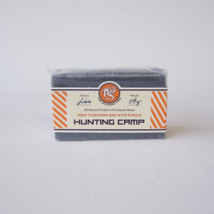 Hunting camp deep exfoliating soap, Portland General Store