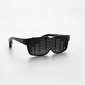 Breezylive Flash Rechargeable Luminous LED  Light Glasses