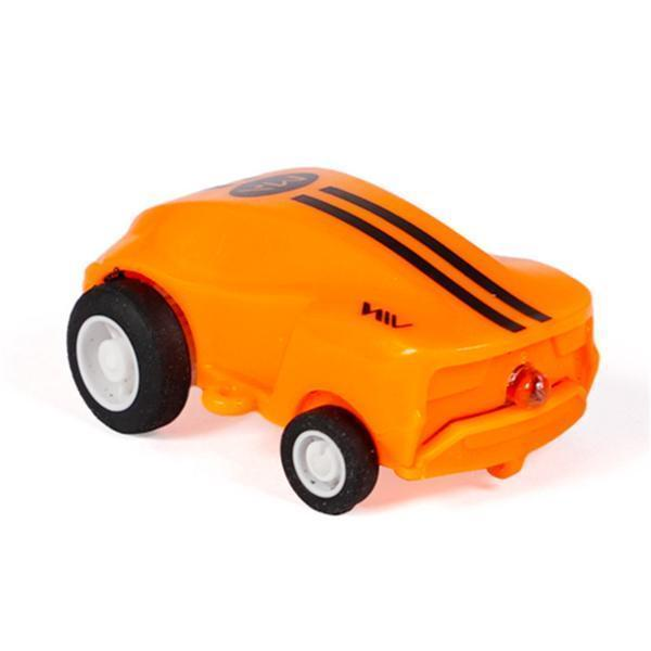 Mini High Speed Spinning USB Rechargeable RC Laser Car for Kids