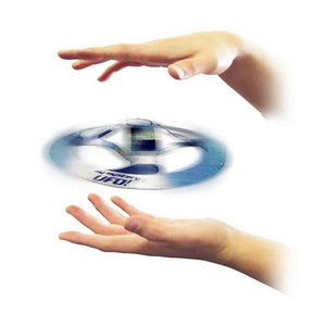 16cm Magic Mysterious UFO Floating Flying Disc Trick Toy