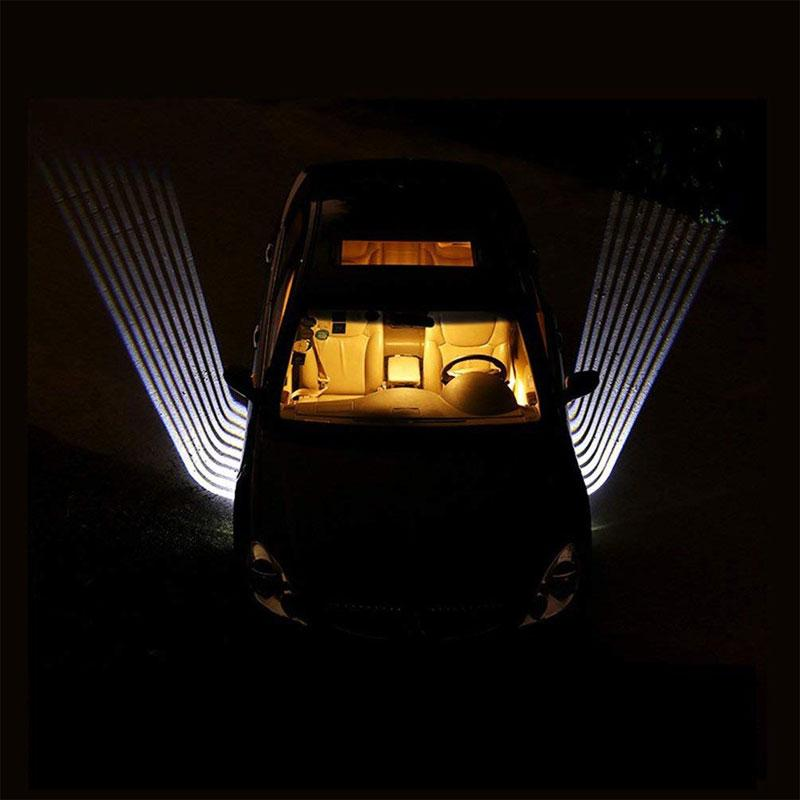 Angel Wings Car Door Exterior Welcome Light Ground Projection for All Vehicles