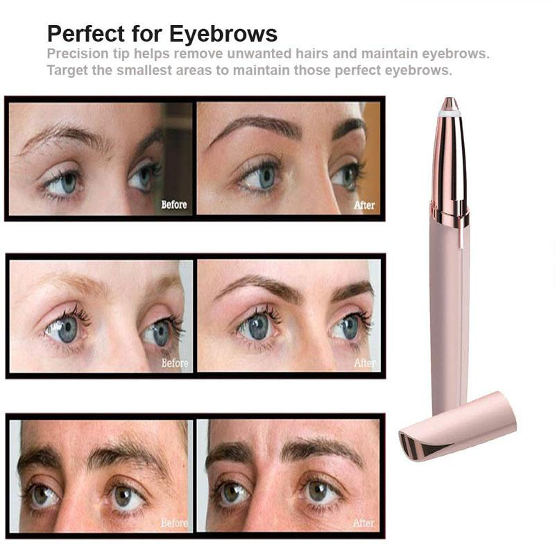 Painless Safe Facial Hair Removal Flawless Brows for Women
