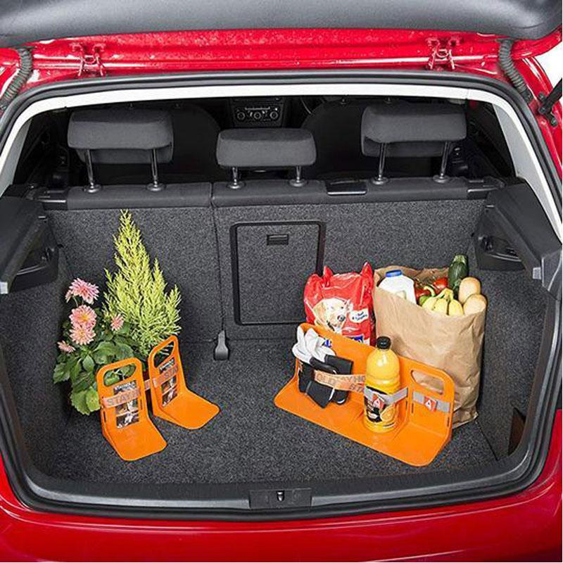 Anti-Slip Car Trunk Fixed Baffle Cargo Organizer for Auto SUV Minivan Truck