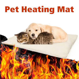 90×64 cm Thermal Self-Warming Pet Bed for Cat/Dog/Puppy