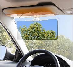 Transparent Anti-Glare Windshield Car Sun Visor Day and Night Vision