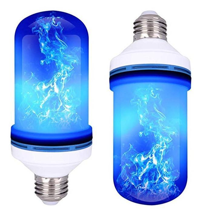 LED Flickering Fake Flame Effect Light Bulb with Gravity Sensor
