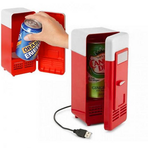 BREEZYLIVE Mini Portable USB Powered Fridge Beverage Cooler and Warmer