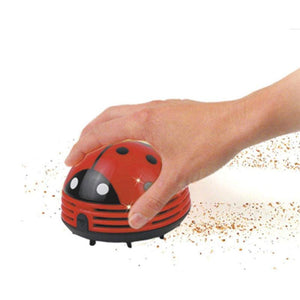 Mini Portable Handheld Cartoon Beetle Cordless Crumby Vacuum Cleaner