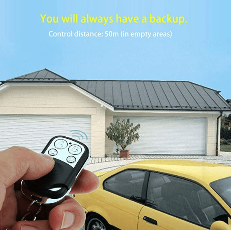 Wireless Remote Control Duplicator Key Fob for Door Garage