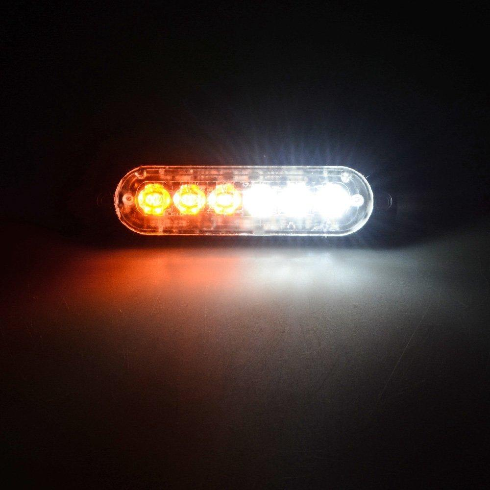 XT AUTO 6LED Car Truck Emergency Beacon Warning Flash light