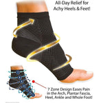 Compressed foot cover (1PAIR)