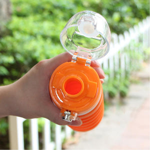 500ml Portable Collapsible Reusable Sealable Water Bottle