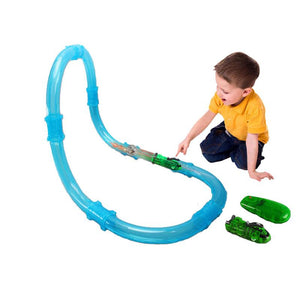 Assembled Pipeline Remote Control Electric High Speed Railcar Toy