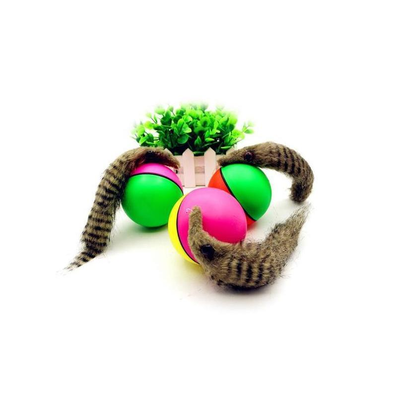 Battery Operated Weasel Activation Ball Interactive Cat Toy