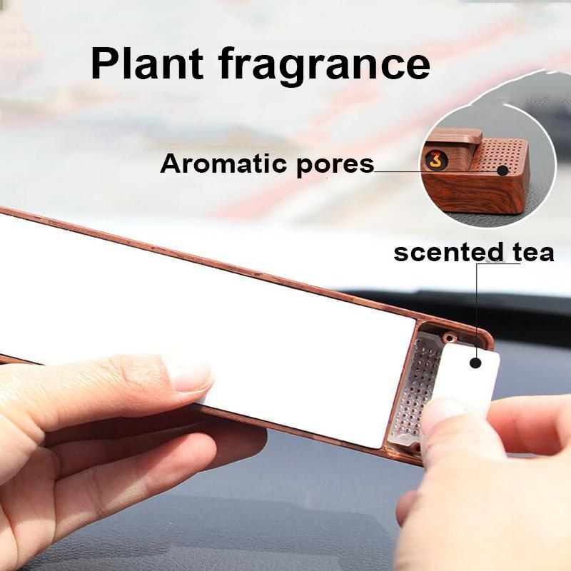Rotating Hidden Car Temporary Parking Card Plate with Aromatherapy