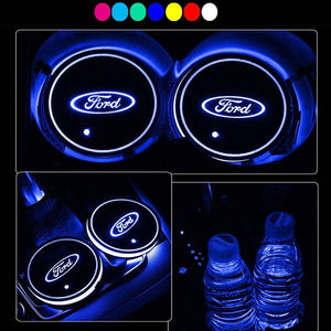 Car LED light coaster(60% off)