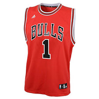 NBA Chicago Bulls Derrick Rose Replica Road Youth Jersey, Red, Small : Sports Fan Jerseys : Sports & Outdoors - Hobbyvillage