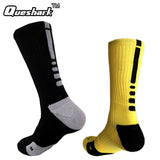 Brand Outdoor Sport New Elite Cycling Socks Men Long Coolmax Basketball Soccer Socks Male Compression Socks Men Athletic Socks - Hobbyvillage