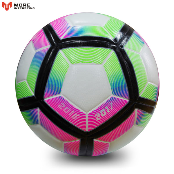 High Quality 2017 Official Size 5 Football Ball PU Granule Slip-resistant Seamless Match Training Soccer Ball Football Equipment - Hobbyvillage