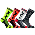 YF&TT Mens Women Breathable Nylon Riding Cycling Socks Bicycle sports socks Basketball Football Socks Fit 40-46 - Hobbyvillage
