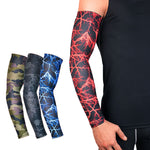 1Pcs UV Protection Running Cycling Arm Warmers Basketball Volleyball Arm Sleeves Bicycle Bike Arm Covers Golf Sports Elbow Pads - Hobbyvillage