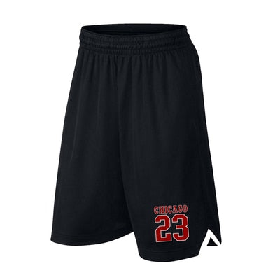 Men Basketball Shorts Sports Running Breathable Shorts With Pocket Summer Athletic Men's Shorts - Hobbyvillage