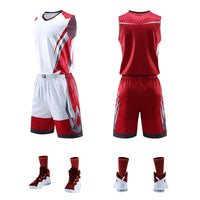 Top Quality Men Women Basketball Jerseys Sets Uniforms Sport Kit Clothing Shirts Shorts Suits Side Pockets Customized Print Draw - Hobbyvillage
