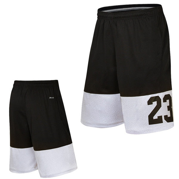 Basketball Shorts No.23 Loose Beach Shorts Gym Training Sports Short Trousers Men's Quick Dry Running Shorts - Hobbyvillage