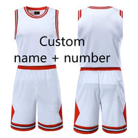 Custom Name + Number Kids & Adult College Basketball Jerseys USA Throwback Basketball Jersey Youth Cheap Basketball Uniforms Ses - Hobbyvillage
