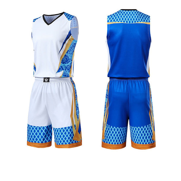 Men Kids Basketball Jerseys Suit Boys College Mens Basketball Uniforms Sport Kit Shirts Shorts Set Cloth Breathable Custom Print - Hobbyvillage
