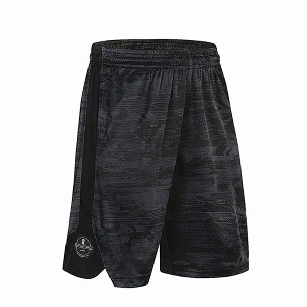 Basketball Shorts Sport Soccer Jersey Basket Sportswear Loose Sport Men's Jogging Shorts Tennis Men with Zipper Elastic Pocket - Hobbyvillage